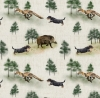 Hunting Dachshund - Panama Cotton