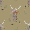 Skating Moose - Kleiner Elch