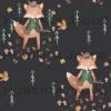 Fox Hood Anthrazit