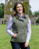 Albany Ladies Tweed Weste -weicher Lambswoll Tweed-